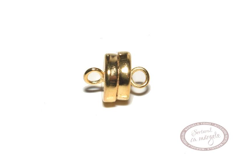 Inchizatoare magnetica 7mm placata cu aur
