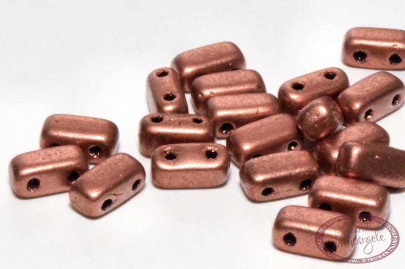 Margele Brick Matte Metallic Copper