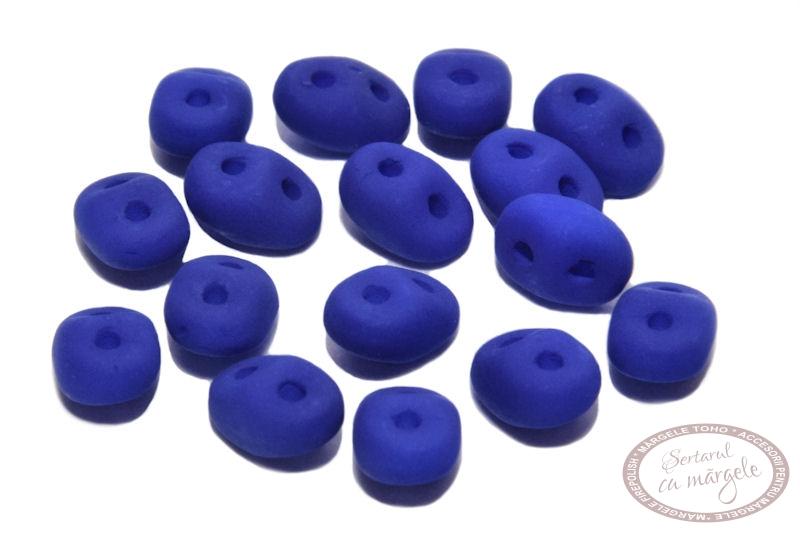 Margele Superduo Neon Ocean Blue