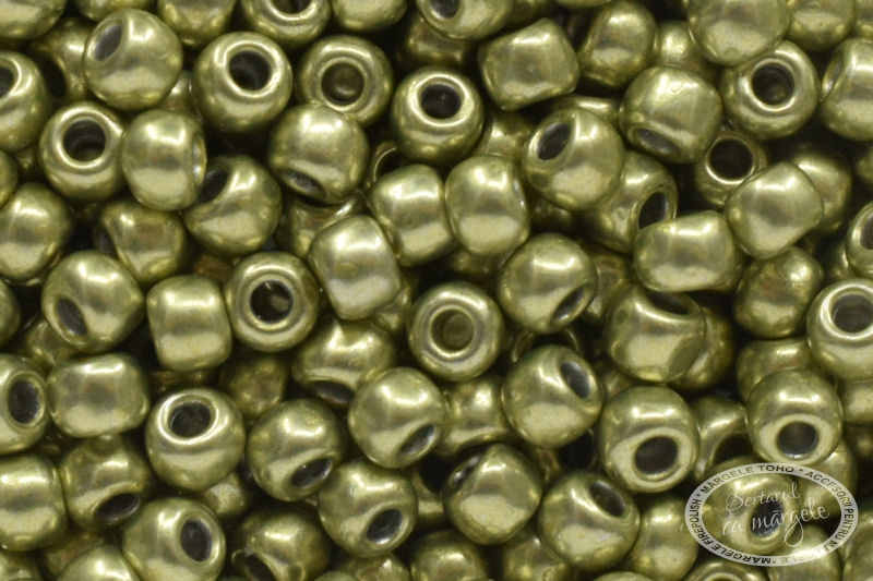Margele TOHO 11 HYBRID ColorTrends Metallic Primrose Yellow 1