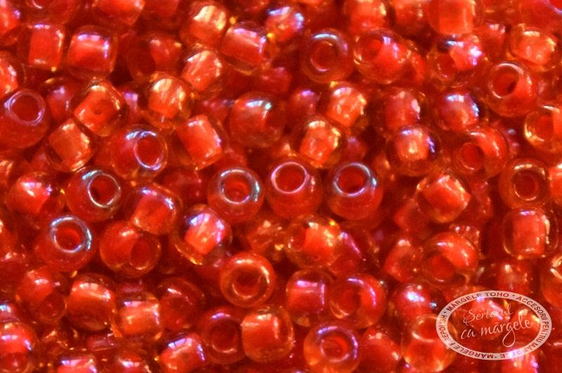 Margele TOHO 11 Inside Color Lt Topaz Hyacinth Lined