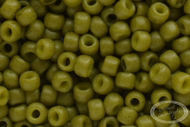 Margele TOHO 11 Semi Glazed Olive 1