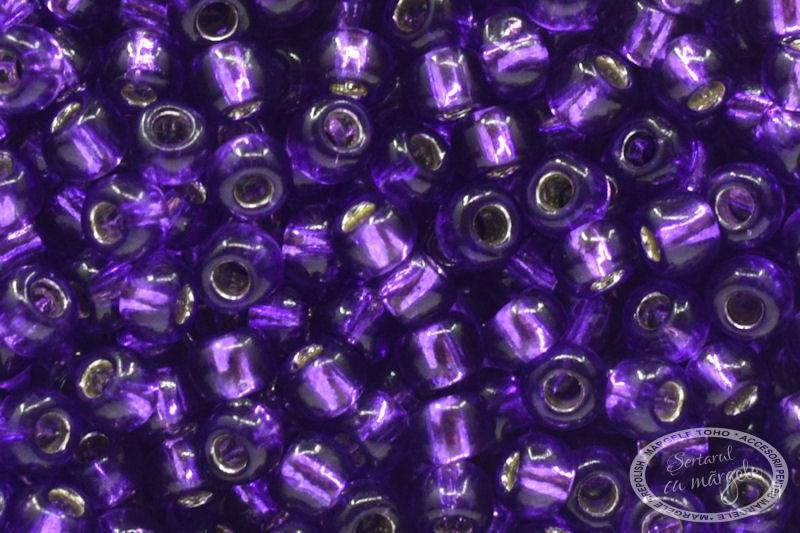 Margele TOHO 11 Silver Lined Purple