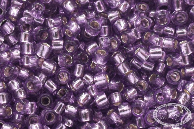 Margele TOHO 15 Silver Lined Lt Grape 1