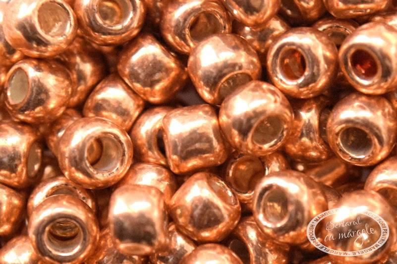 Margele TOHO 6 Galvanized Rose Gold