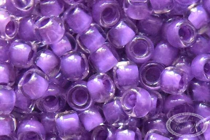 Margele TOHO 8 Inside Color Crystal Wisteria Lined
