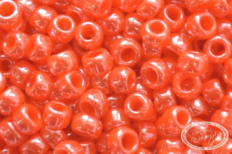 Margele TOHO 8 Opaque Lustered Pumpkin