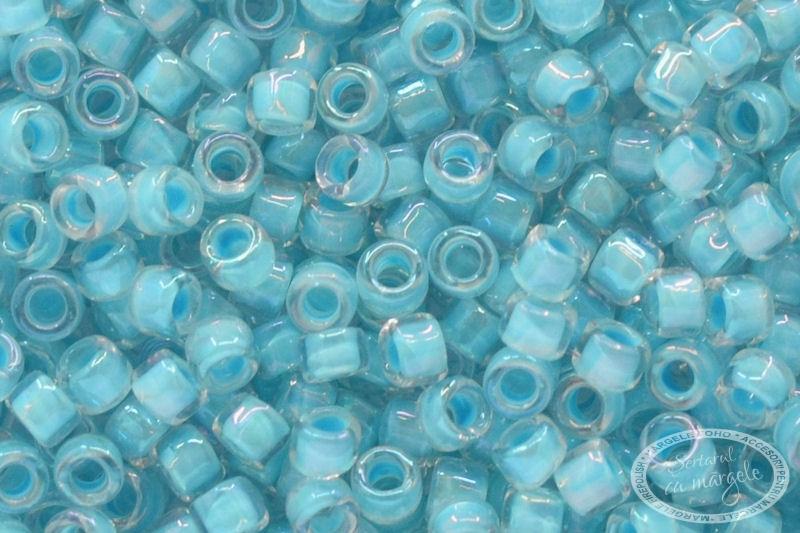 TOHO Treasure 11 Inside Color Crystal Sky Blue Lined 1