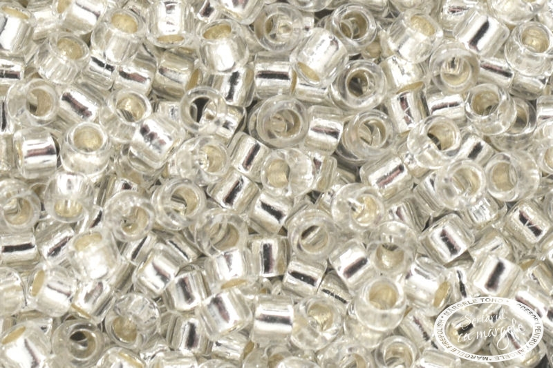 TOHO Treasure 11 Silver Lined Crystal