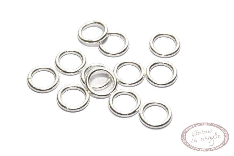 JR21SP Zale placate cu argint 5mm