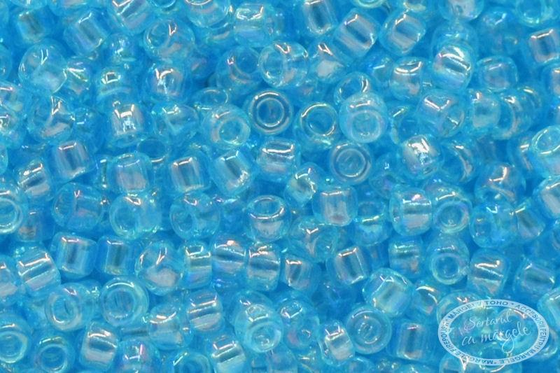 Margele TOHO 15 Transparent Rainbow Aquamarine 1