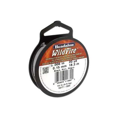 fir beadalon wildfire 015mm negru 18 3m 652226990