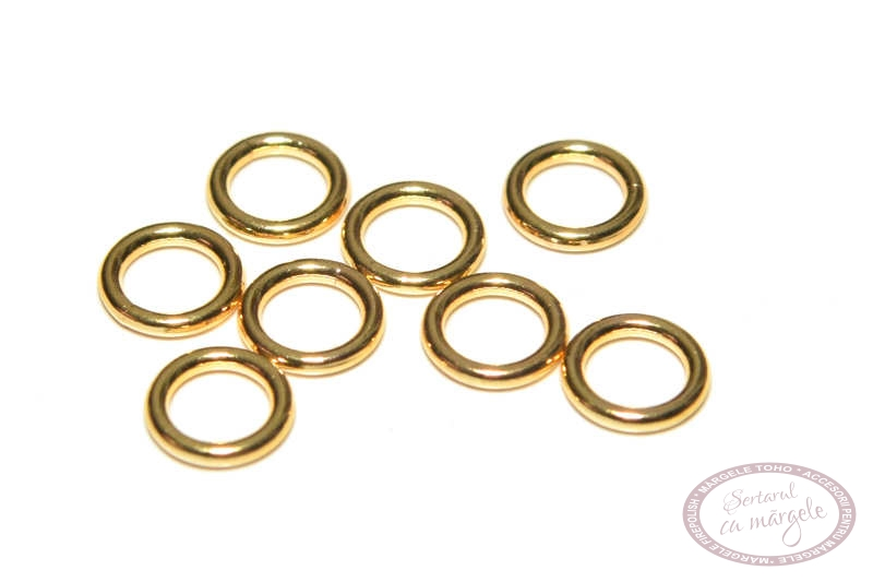 zale 6mm placate cu aur
