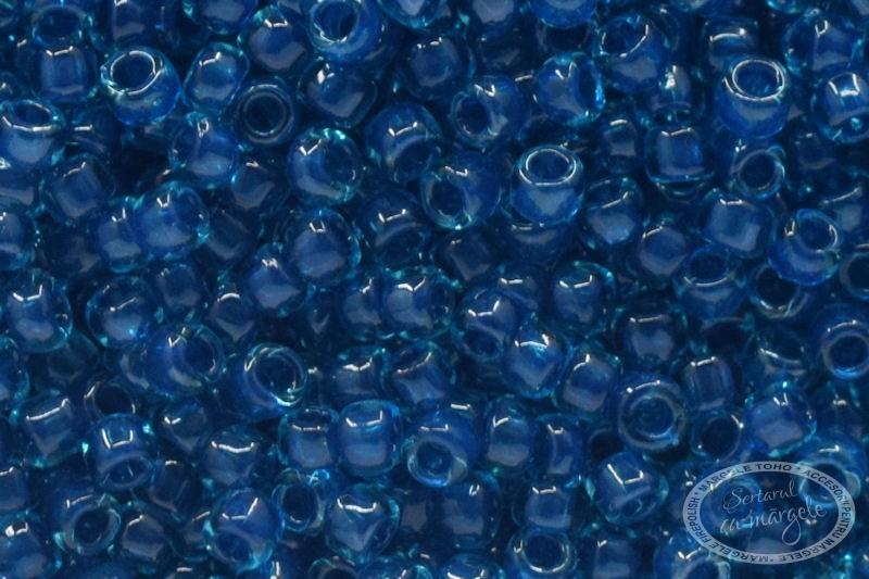 Margele TOHO 15 Inside Color Aqua Capri Lined