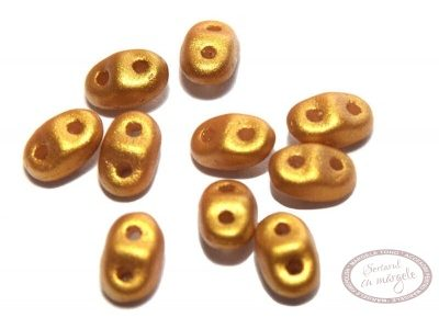 Margele Mini Duo, Gold Shine - Gold - 5g
