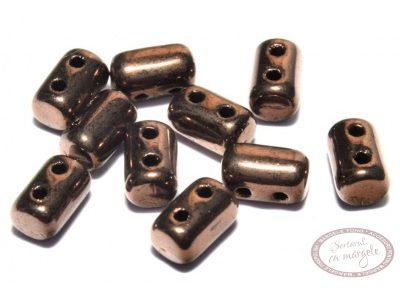 Margele Rulla : 3x5 mm Dark Bronze - 10g