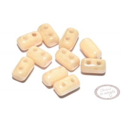 Margele Rulla : 3x5 mm Opaque - Luster Champagne - 5g