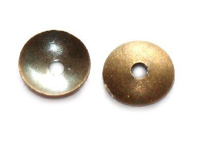 Mini capac 4mm, alama antichizata, 20 buc.