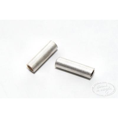 Tub drept 10mm, placat cu argint, 5 buc.