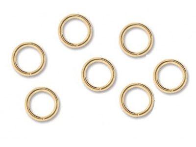 Zale 7mm, placate cu aur, 12 buc.